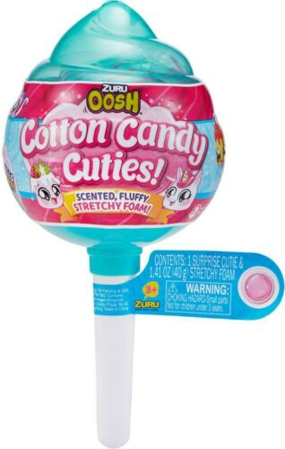 Oosh Cotton Candy Cuties Stretchy Foam MEDIUM Pop GREEN Mystery Pack