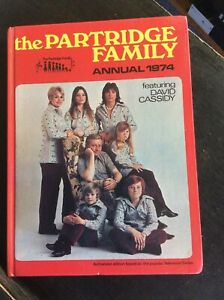 The-Partridge-Family-Annual-1974-Book