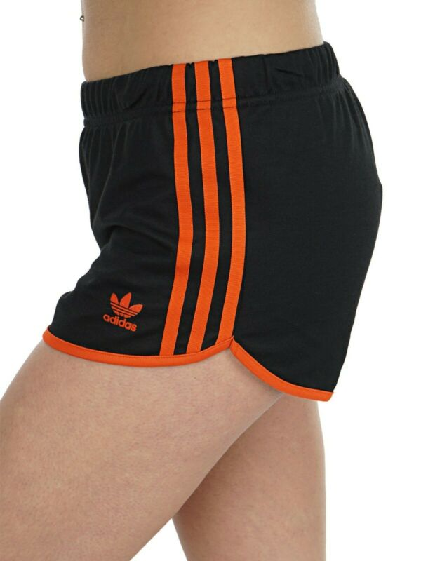 Brilliant Adidas Women's Du9938 Shorts Black Craft Orange ( Xs ) To Be Highly Praised And Appreciated By The Consuming Public