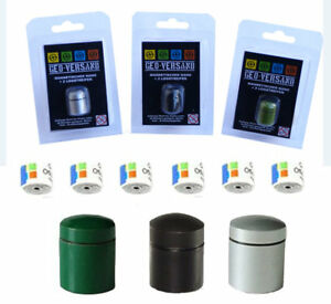 3x-magnetischer-Geocaching-NAno-klein-Stadt-D5-Magnet-Mini-Behaelter-Alu-Micro