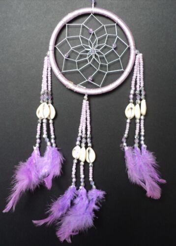 Dream catcher violet clair argent belle shell design dreamcatcher dc12sd