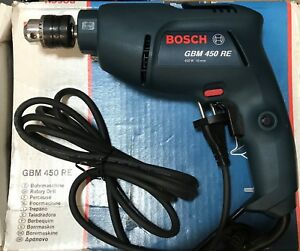 Trapano-Bosch-GBM-450-RE-rotativo-da-banco-reversibile