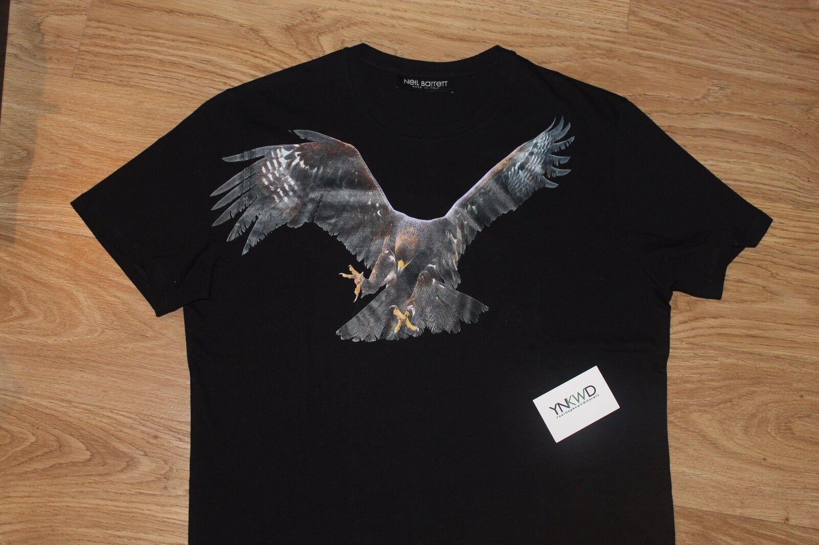 Neil Barrett T Shirt Eagle Size XL Brand new