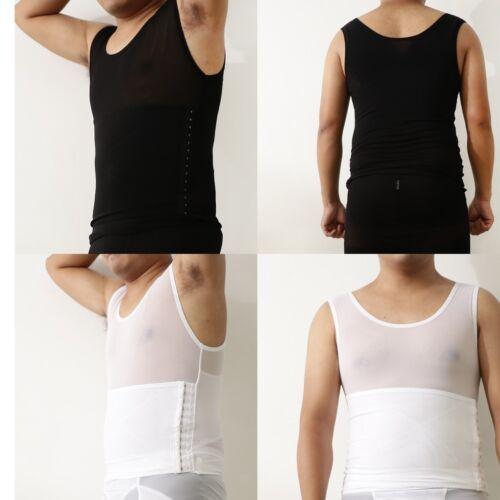Elastic Compression Slimming Corset Shirt Vest Body Shaper Underwear for Men