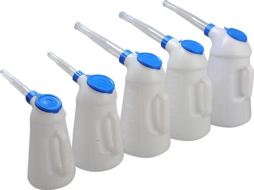 Füllkanne 3 L Wasser Kanne Kfz Werkzeug Ölkanne Kunststoff Messkanne Messbecher