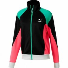 Puma Sophia Chang Graphic Womens Full Zip Wind Jacket Blue Pink 567458 51 RW67