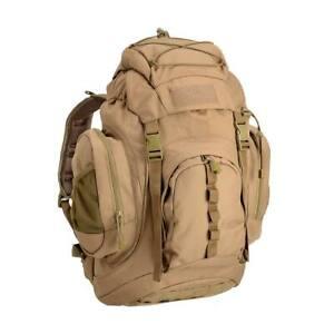Zaino Tattico Militare DEFCON5 D5-S100026 CT Coyote Tan 100Lt MOLLE Longe Range