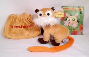 WOW-ON-SALE-NOW-Emperor-Tamarin-Plush-Animal-amp-Story-Booklet-by-PocketFuzzies