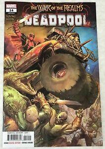 Deadpool-14-Secret-Carnage-Blood-Variant-Marvel-Comics-1st-Print-2019-unread-NM
