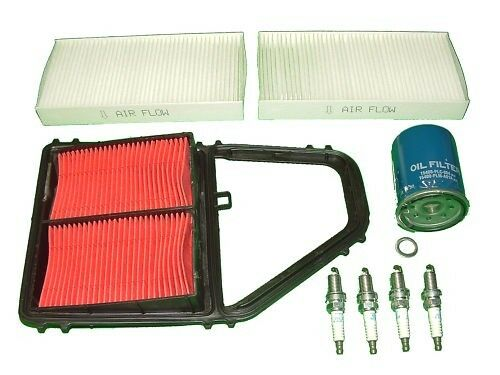 Tune Up Kit Honda Civic 2001 to 2005 1.7L Includes Filters and NGK Spark Plugs