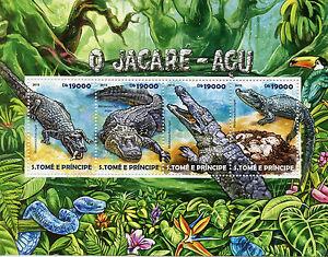 Image Is Loading Sao Tome Amp Principe 2017 Mnh Black Caiman