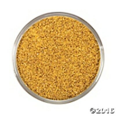 Gold - Wedding Decorative COURSE GLITTER Coloured Sand - 454g or 1Lb Bag