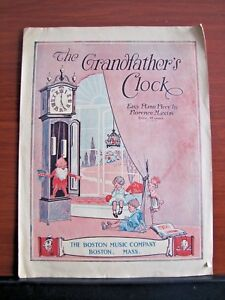 The Grandfather039s Clock  1904 sheet music Easy Piano  Florence Maxim - Eldon, Missouri, United States - The Grandfather039s Clock  1904 sheet music Easy Piano  Florence Maxim - Eldon, Missouri, United States