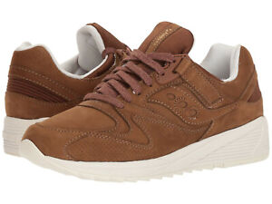 Saucony-Grid-8500-HT-Men-039-s-Shoe-Brown-Size-10-5-M