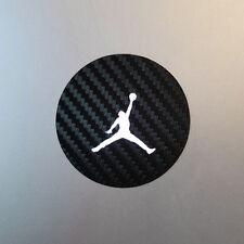 Air Jodan Jumpman MacBook Laptop Decal - Black Carbon Fiber