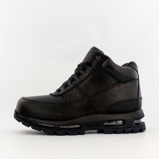 747779fb0295 Nike Mens Air Max Goadome ACG 2013 Black Leather Sz 13 for sale ...