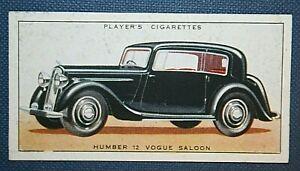 HUMBER-VOGUE-Original-1930-039-s-Vintage-Colour-Card