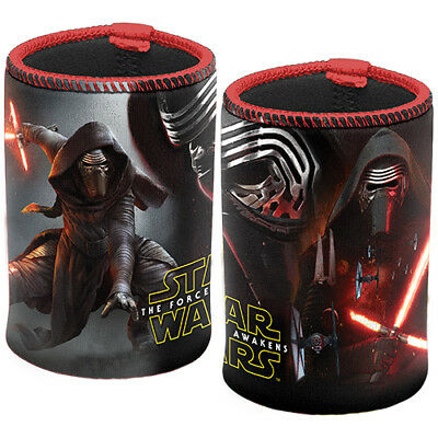 Star Wars Movie KYLO REN Can Cooler Stubby Holder Christmas Gift Man Cave 003J1