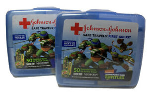 2-pack Johnson & Johnson Red Cross Brand Safe Travels First Aid Kit Turtles