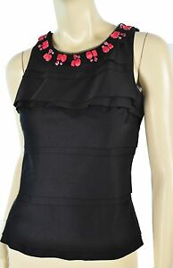 NWT-WHITE-HOUSE-BLACK-MARKET-CONVERTIBLE-NECKLACE-DRESSY-TOP-4