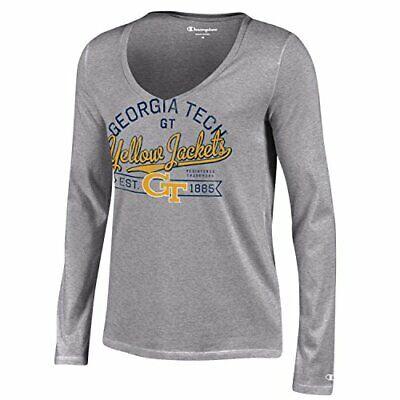 Champion NCAA Girls Short Sleeve Scoop Neck T-Shirt Tee