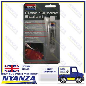 Granville-Clear-Silicone-Sealant-40g-Muliti-Purpose-Sealant-amp-Adhesive-Flexible