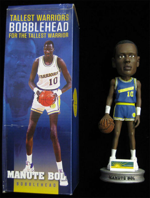 3d71531c3223 Manute Bol Bobblehead NIB RARE SGA Promo Golden State Warriors NBA  Championship