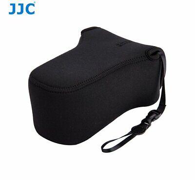 Jjc OC-F3BK neopreno cámara bolsa caso bolsa para 127 X 85 X 173mm Lente de cámara con