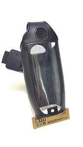 SIEMENS-UNIFY-SL400-Pro-Gigaset-SL350-Funda-de-cuero-con-Rotary-Clip-cinturon