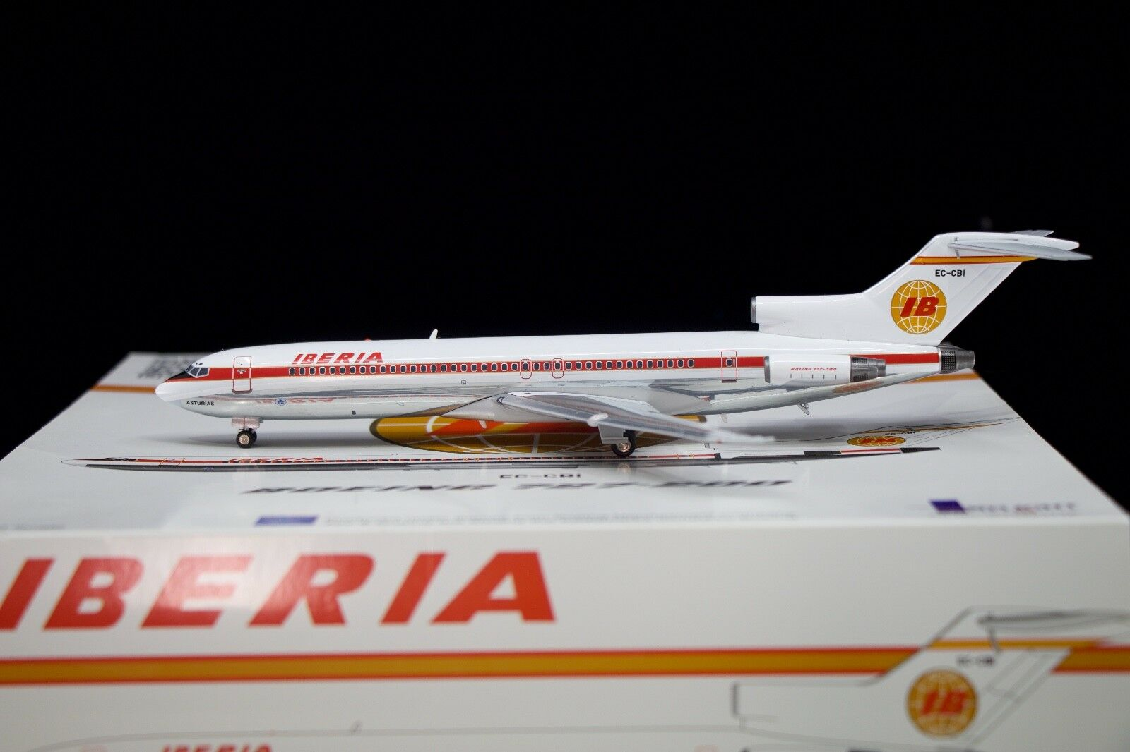 Inflight200 1/200 Iberia 727-200 EC-CBI