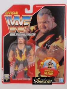 WWF-WWE-Bam-Bam-Bigelow-Vintage-Hasbro-Action-Figure-1994-Series-8-MOC-Rare