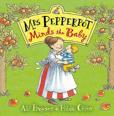 """1 of 1 - """"AS NEW"""" Mrs Pepperpot Minds the Baby (Mrs Pepperpot Picture Books), Proysen, Al"""