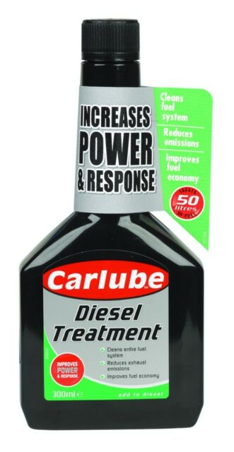 Carlube Diesel Treatment For Maximum Fuel System Efficiency 300ml QPD300