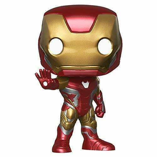Funko POP Iron Man Mark 85 Marvel Series Avengers  Endgame Vinyl Figure Toy Doll