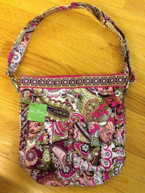 Vera Bradley Quick Draw Tote in Very Berry Paisley, new with tags