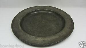 1871-1918 Sammeln & Seltenes Fein Zinn Teller London Neffe & Sohn 1890 Suppenteller Engelspunze Waage Hochwertige Materialien
