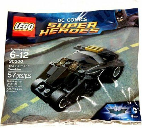 LEGO 30300 Lego, DC Comics Super Heroes, The Batman Tumbler Bagged