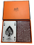 Hermes-Faubourg-Saint-Honore-PARIS-playing-cards-in-Japan-Ginza-30-Year-Vintage thumbnail 1