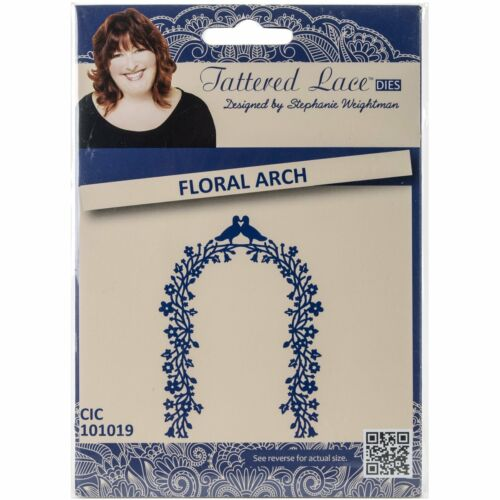 Tattered Lace Dies by Stephanie Weightman ~ Floral Arch TTLD366 ~ NIP
