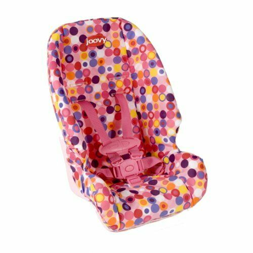 Pink Dot Joovy Doll Toy Car Seat