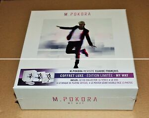 MATT-POKORA-REVISITE-CLAUDE-FRANCOIS-MY-WAY-BOX-LUXE-NEUF-SCELLE