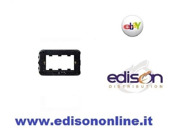 ELETTROCANALI SUPPORTO//TELAIO TRE MODULI PER CASSETTA 503