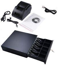 Amigo Amp Pcamerica Point Of Sale Pos Usb Thermal Receipt Printer Cash Drawer