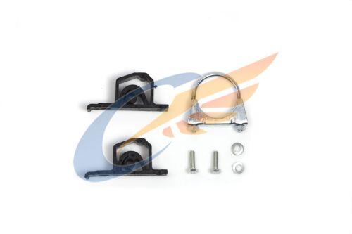 Auspuff Endschalldämpfer Endtopf mit Anbausatz MINI Cooper 1.6i 16V 2001-2008