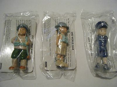 Three Mondotime Historical Figures   2nd World war.sealed!