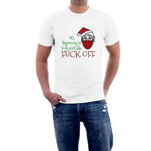 It's Beginning to Look a lot Like F*ck Off T-shirt  Rude Christmas by Sillytees
