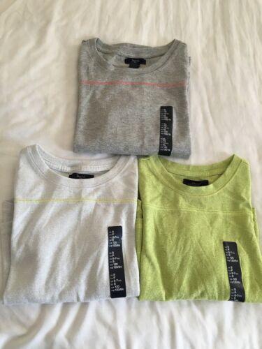 Gap Kids Girl/'s Sweaters S XL 6 7 12 Metallic Colors Gray Lime White NWT