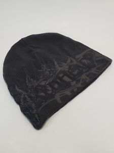 Redhead Winter Beanie Toque Hunting Hat Gray Embroidered Buck Antlers