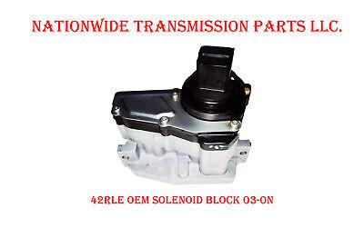 42RLE TRANSMISSION SOLENOID BLOCK PACK DODGE  03-UP