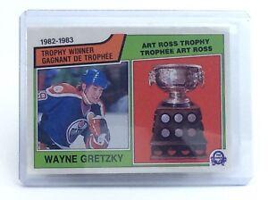 1983-1984-Wayne-Gretzky-204-Edmonton-Oilers-OPC-O-Pee-Chee-Hockey-Card-H700
